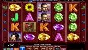 Tragaperras de casino Blue Heart