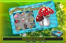 Máquina tragaperras sin registro Darling of Fortune