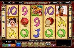 Juega la tragamonedas de casino en línea Dragon Reels