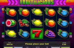 Máquina tragamonedas gratis de casino Fruitilicious