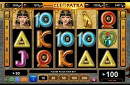 Juega la tragaperras gratis Grace of Cleopatra