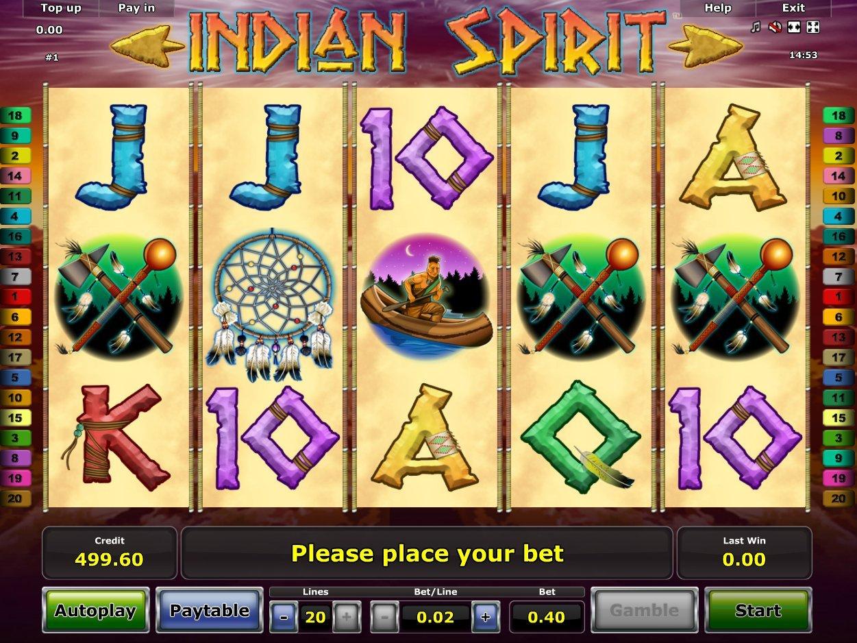 Tragamonedas Gratis Indian Spirit