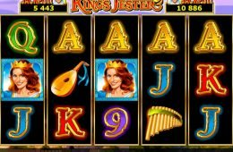 Máquina tragamonedas de casino King's Jester