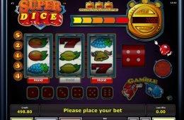 Juego de casino Super Dice