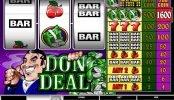 Máquina tragamonedas de casino Don Deal