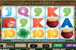 Imagen de la tragaperras de casino Emerald Isle