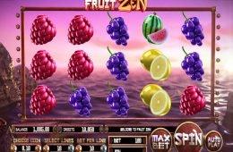 Juega la tragaperras Fruit Zen