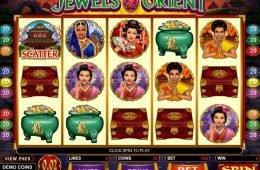 Máquina tragaperras en línea Jewels of the Orient