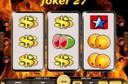 Tragaperras en línea Joker 27