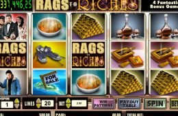 Tragamonedas de casino Rags to Riches