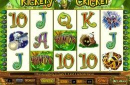 Tragaperras en línea Rickety Cricket