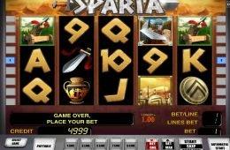 Play free casino slot Sparta no deposit