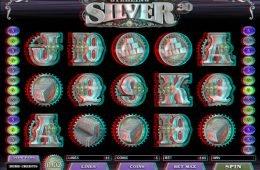 Tragaperras Sterling Silver 3D
