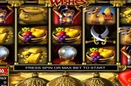 Juega la tragamonedas gratis Three Wishes