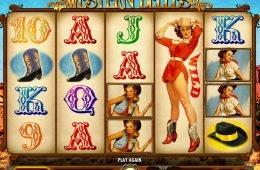 Juega la divertida tragamonedas gratis en línea Western Belles