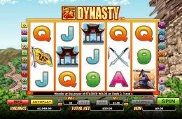 Tragamonedas gratis en línea Dynasty sin depósito