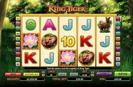 Máquina tragaperras de casino King Tiger