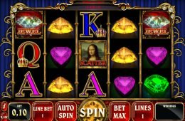 Divertida tragamonedas gratis de casino Mona Lisa Jewels