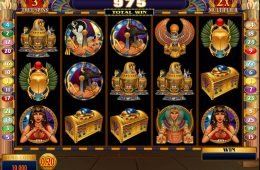 Throne of Egypt free slot machine