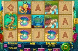 Juego divertido no descargable Atlantic Treasures
