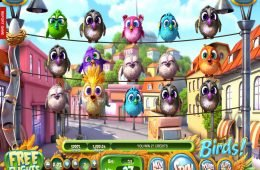 Imagen del juego tragamonedas Birds! Sin depósito