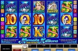 Juego no descargable Mermaids Millions gratis