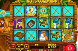 Tragamonedas en línea Nuts Commander