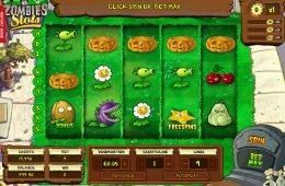 Juega gratis la tragaperras online Plants vs. Zombies