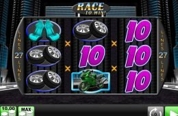 Imagen de la máquina tragamonedas Race to Win