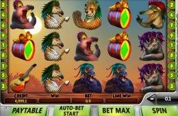 Juego de casino Safari Samba