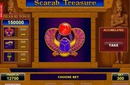 Tragamonedas gratuita Scarab Treasure en línea