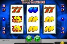 Máquina tragaperras online Triple Triple Chance