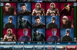 Imagen de la máquina tragamonedas online X-Men 50 Lines