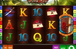 Juega en la tragaperras de casino gratis Book of Romeo and Julia