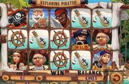 Juega en la máquina tragaperras Exploding Pirates