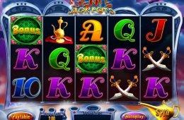 Juega la máquina tragaperras online gratis Genie Jackpots