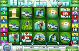 Tragamonedas de casino gratis Hole in Won