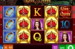 Tragaperras de casino online King & Queen