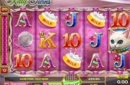 Imagen de la tragaperras online de casino Kitty Twins