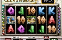 Juega gratis la máquina tragaperras online Odds of the Gods