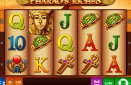 Máquina tragamonedas gratis Pharao's Riches