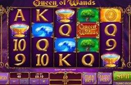 Haz girar por diversión la máquina tragaperras Queen of Wands