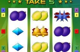 Tregaperras online gratuita Take 5 de Bally Wulff