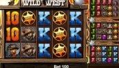 Tragamonedas online Wild West de Mazooma
