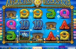 Tragaperras de casino Atlantis Treasure