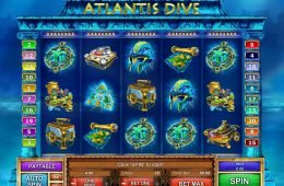 Tragamonedas de casino online Atlantis Dive