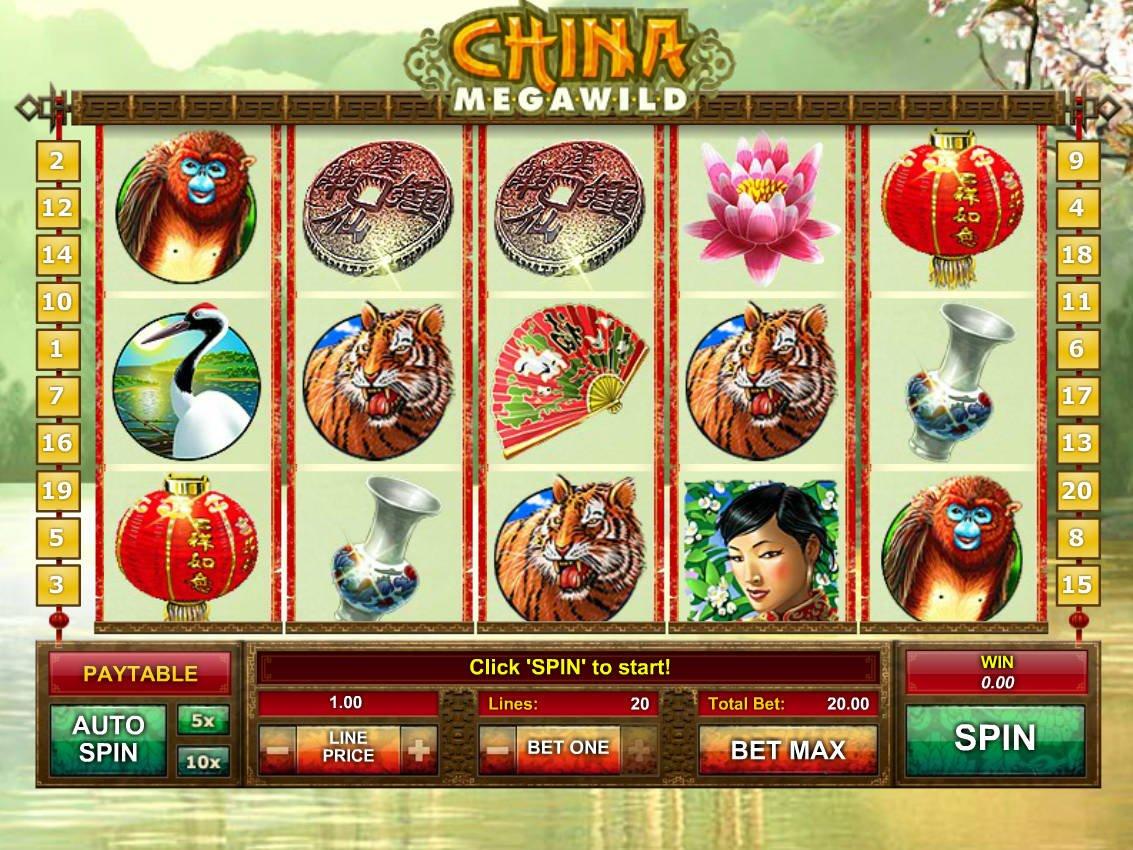 Chinese Wilds Slot Machine