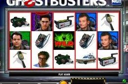 Divertida máquina tragaperras Ghostbusters