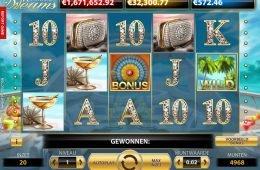 Tragaperras online Mega Fortune Dreams de NetEnt