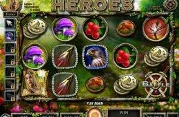 Una imagen de la tragaperras gratis Nordic Heroes